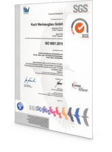 Koch Zertifikat ISO