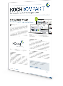 Koch Newsletter